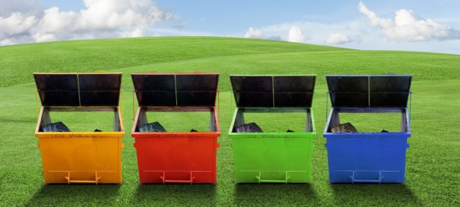 Small Dumpster Rental Prices