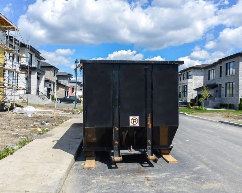 Speed Cleanup when renting dumpster for large construction jobs